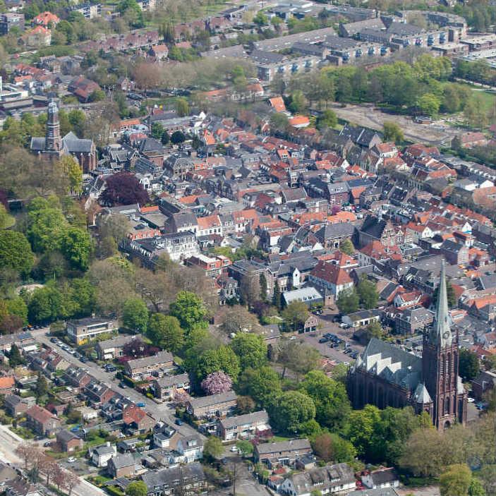 Fotowedstrijd IJsselstein: win een rondvlucht boven de stad