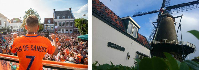 Elwin Mullekes met Huldiging in IJsselstein en Thijs Klomp met Molen de Windotter