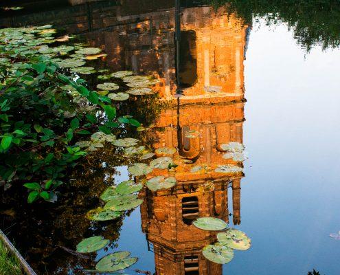 Nummer 8 Fotowedstrijd IJsselstein 2018 - Daphne Hauer - Reflectie in het water