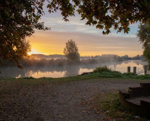 """Nummer 2 Publieksprijs Fotowedstrijd IJsselstein 2018 - Harm van Barneveld met """"De overblijfselen van de Voormolen aan de Hollandse IJssel"""""""