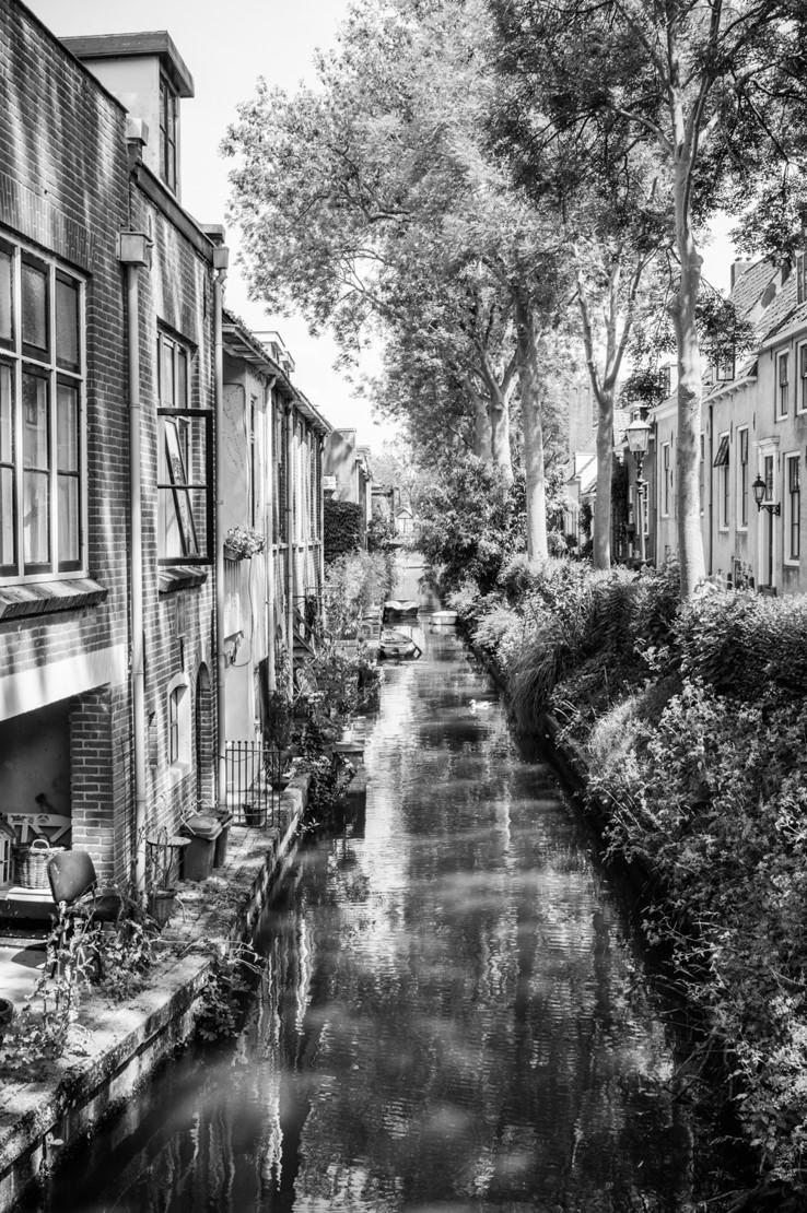 """Winnaar Publieksprijs Fotowedstrijd IJsselstein 2018 - Annet Veenendaal met """"Havenstraat"""""""