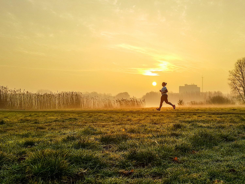 Nummer 2 Publieksprijs Fotowedstrijd IJsselstein 2019 - Petra van Dijk met Ochtendloopje