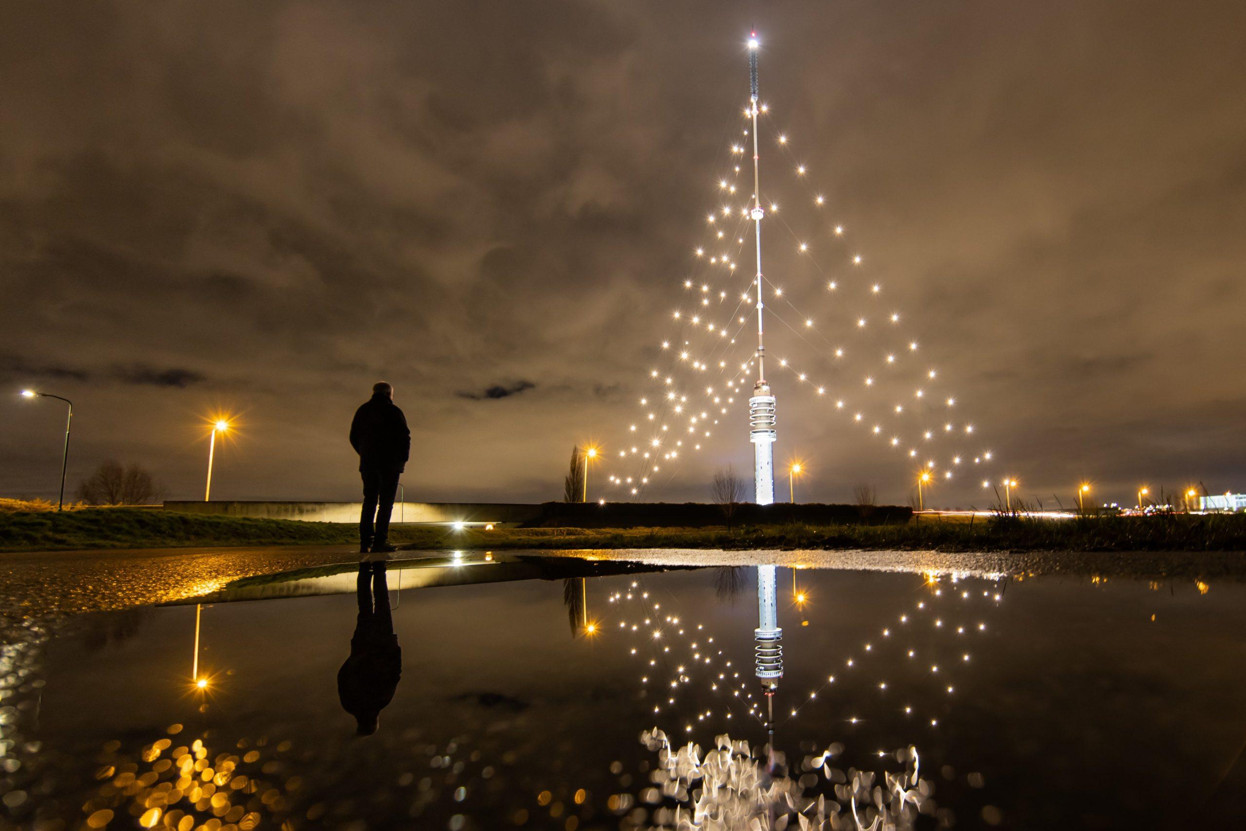 Nummer 3 Fotowedstrijd IJsselstein 2019 - Peter van Haastrecht - Een andere kijk op de mast