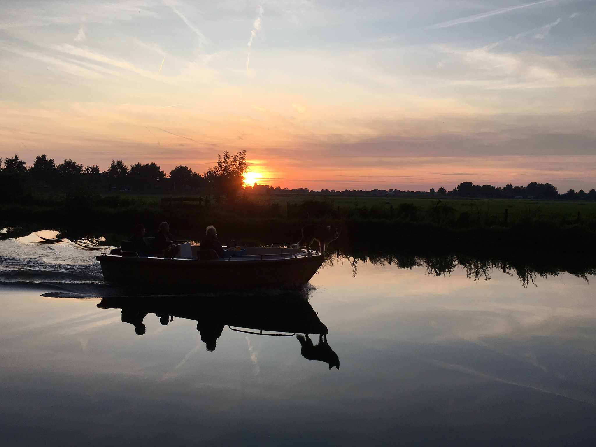 Nummer 6 Fotowedstrijd IJsselstein 2019 - Nel van Rooijen Schalkwijk - Silhouetten