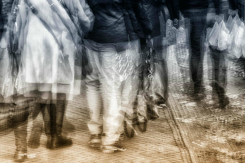 Winnaar Fotowedstrijd IJsselstein 2019 categorie Mobiliteit - Alex van Empel met Vrijdagmarkt