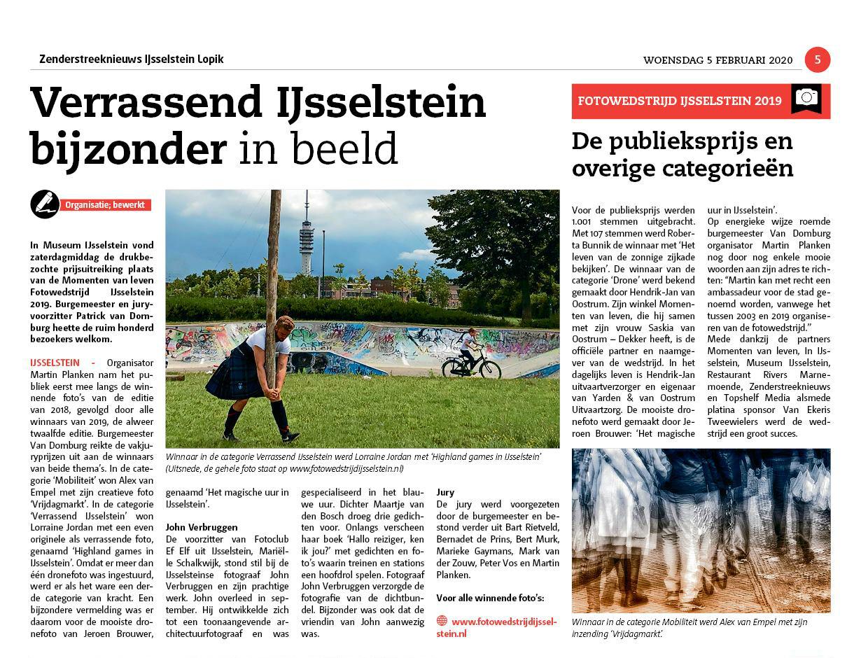 Winnaars Fotowedstrijd IJsselstein 2019 - Martin Planken - Topshelf Media