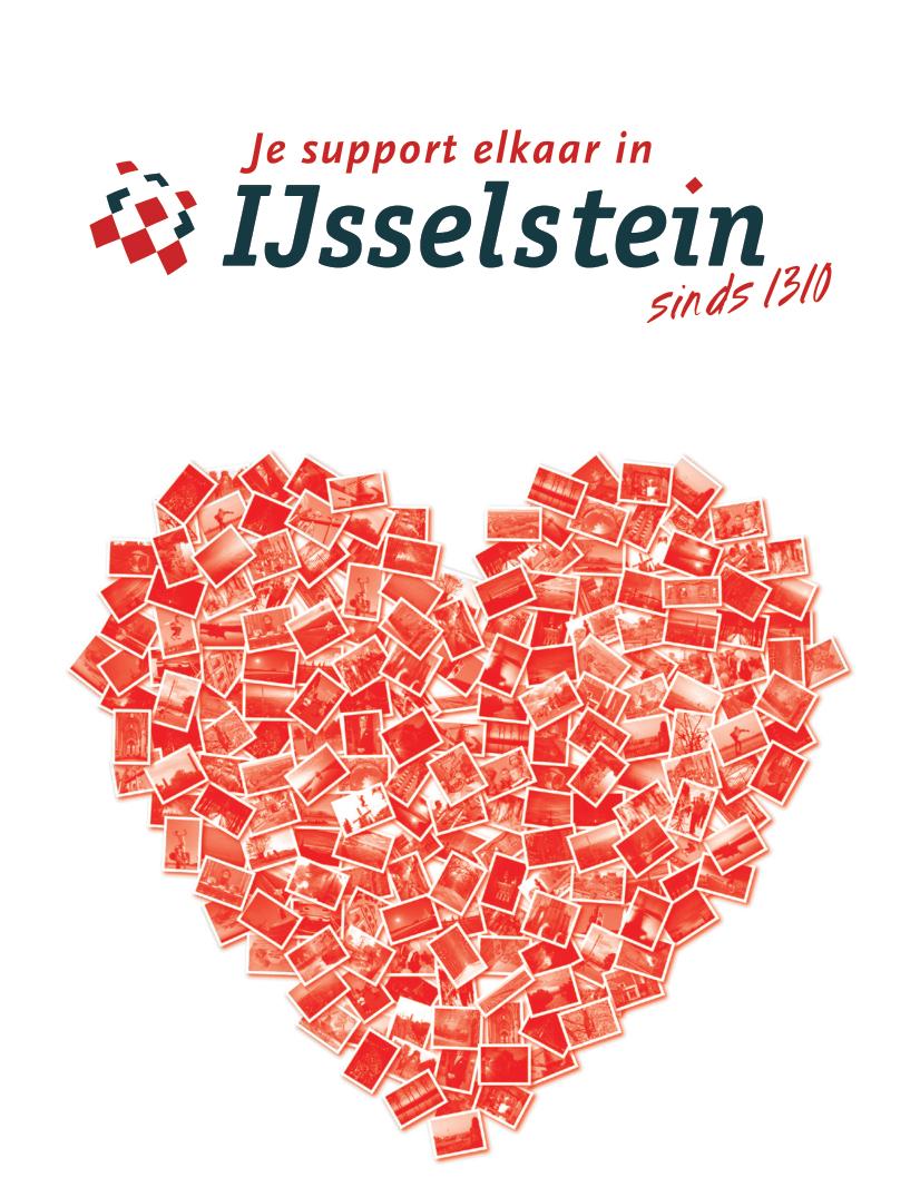 Wenskaart Een Hart Onder De Riem Voor IJsselstein