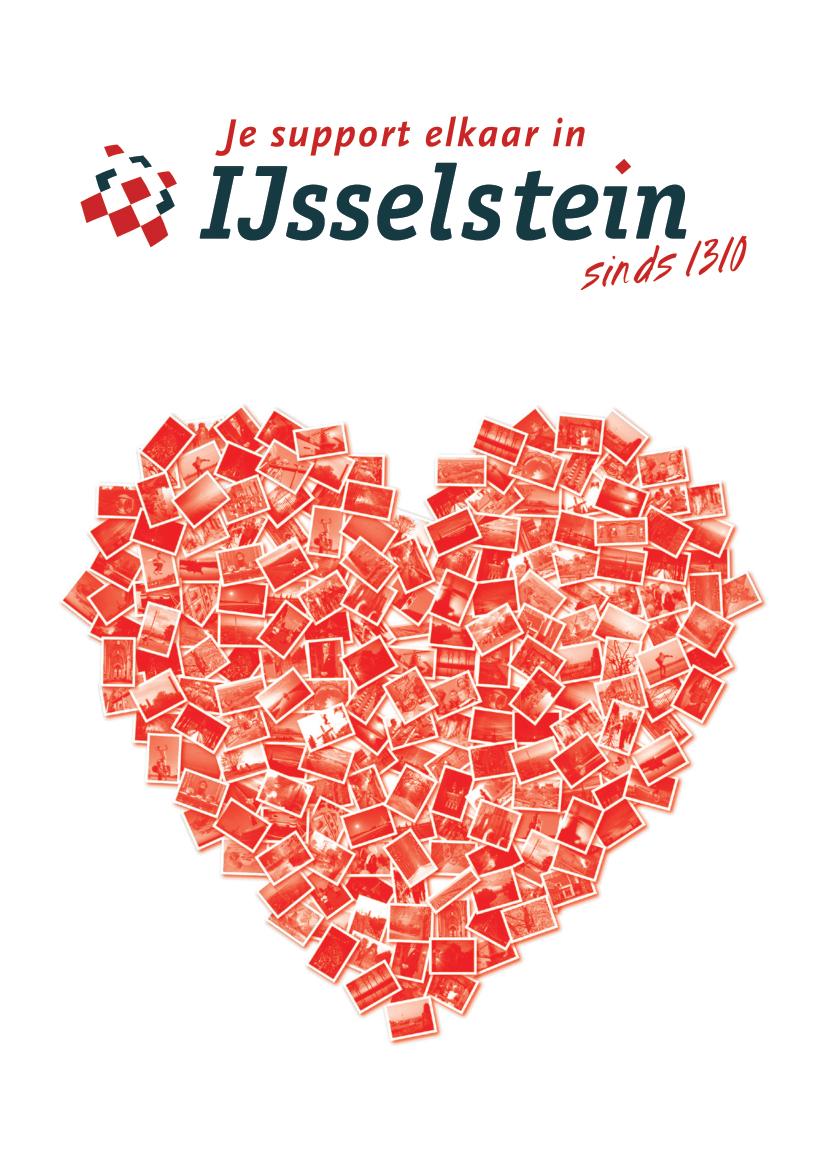 Wenskaart: Een Hart Onder De Riem Voor IJsselstein