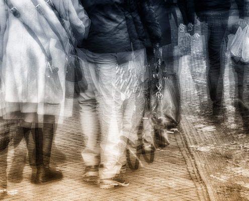 Winnaar Momenten van Leven Fotowedstrijd IJsselstein 2019, categorie Mobiliteit - Alex van Empel - Vrijdagmarkt