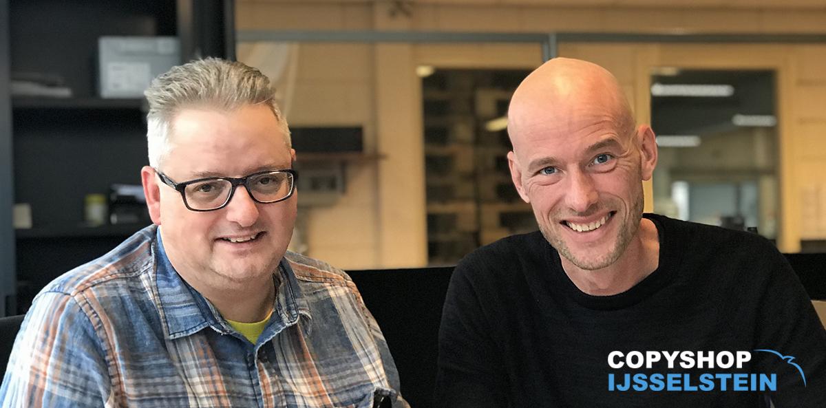 Copyshop IJsselstein: Patrick en Dave